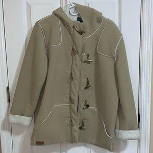 Faux shearling Ralph Lauren winter coat